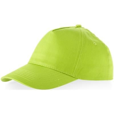 24185816 MEMPHIS 5 PANEL BASEBALL CAP in Apple Green - Promise Promo